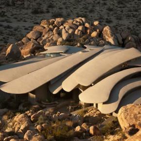"""Футуристическая вилла в калифорнийской пустыне """"Organic Modern Estate"""""""
