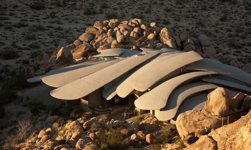 Футуристическая вилла в калифорнийской пустыне «Organic Modern Estate»