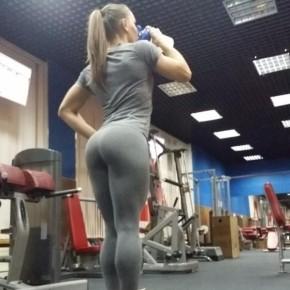 Спортивные девушки в леггинсах [28 незабываемых снимков]