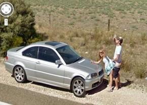 Google Street прикол.