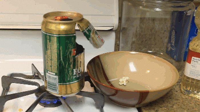Самый крутой способ приготовить попкорн дома (без микроволновки)