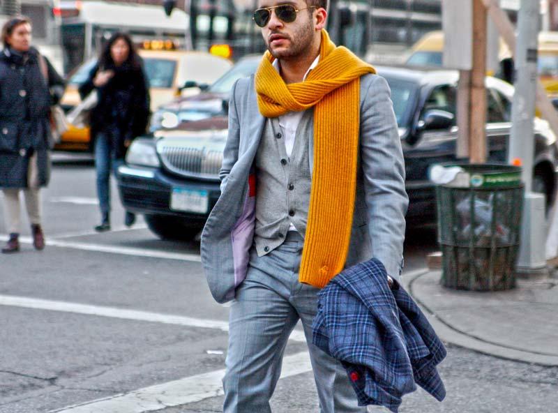 5 способов завязать мужской шарф