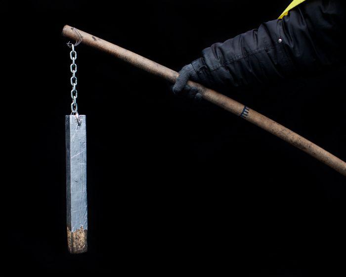 Самодельное оружие украинских революционеров