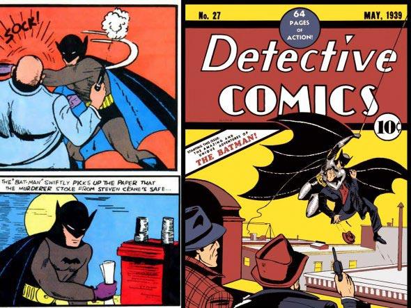 BATMAN отмечает свои 75 лет. (Видео + раритетные фото)