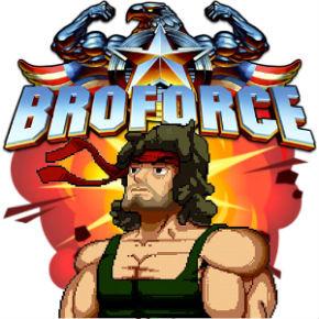 """""""BROFORCE""""-самый крутой мужской 2D экшен"""