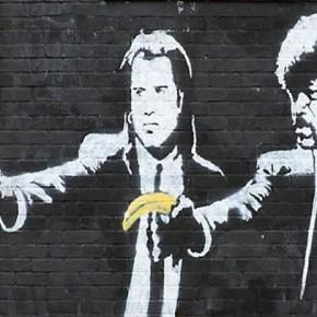 Лучшие работы знаменитого уличного художника Бэнкси (24 фото)
