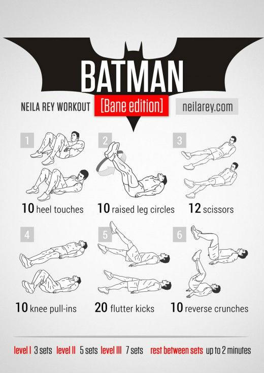 Тренировки от супергероев.