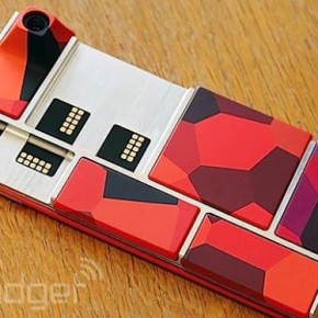 Первый прототип модульного телефона Project Ara от Google.