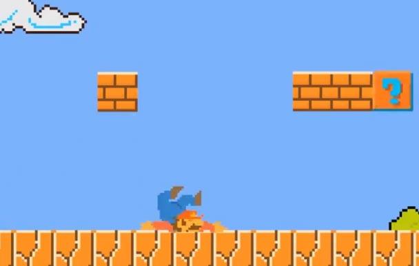 Отличный видео-прикол про Супер Марио