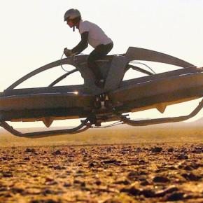 """Ховербайк - """"Aero-X"""" : рождение первого летающего мотоцикла."""