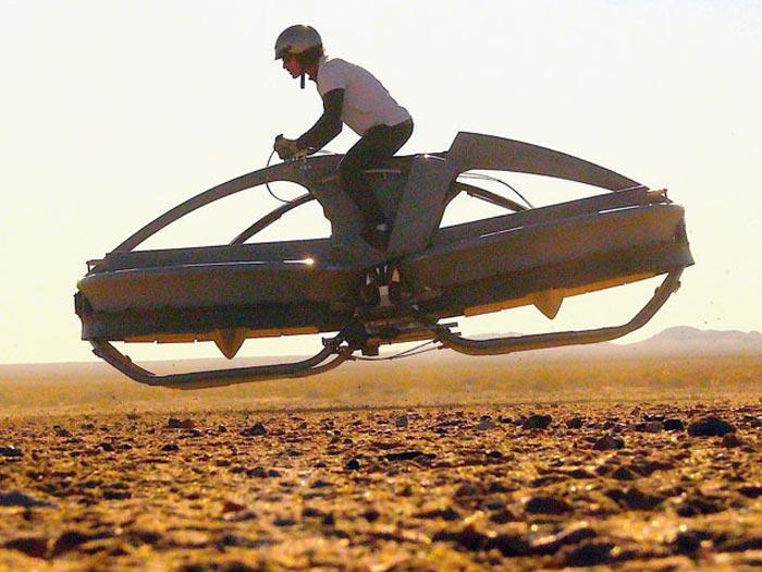 Ховербайк — «Aero-X» : рождение первого летающего мотоцикла.