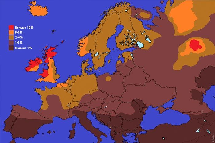 Необычные карты мира, о существовании которых вы и не знали.