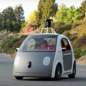 Прототип самоуправляемого автомобиля от Google
