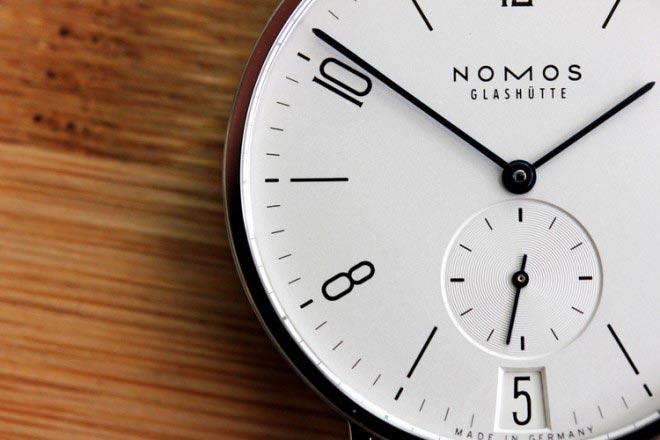 Как делают наручные часы NOMOS Glashütte.