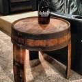 """Крутой журнальный стол из бочки для бурбона от """"Columbus Barrel Co"""""""