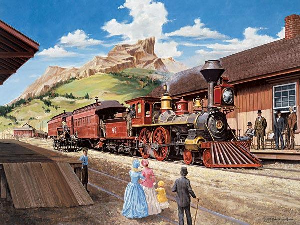 Самый длинный железнодорожный маршрут в мире.