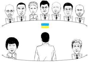 Украинский хор политиков 2014