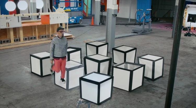 100 невероятных оптических иллюзий с обманом зрения от OK GO