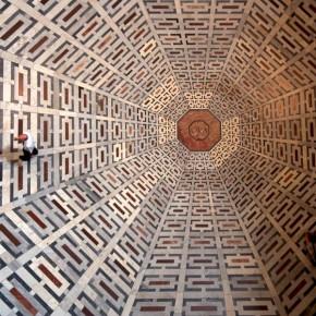 Самый олдскульный 3d граффити в соборе Санта-Мария-дель-Фьоре.