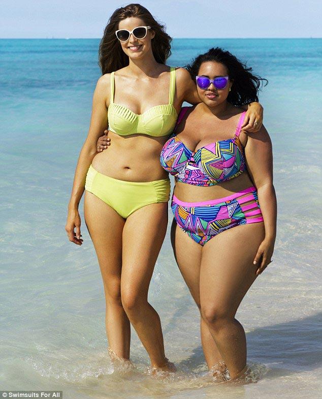 Эти пышки в купальниках показали всем, что такое женское тело