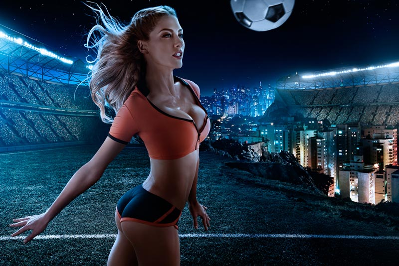 Эротический календарь Чемпионата Мира по футболу 2014 года.