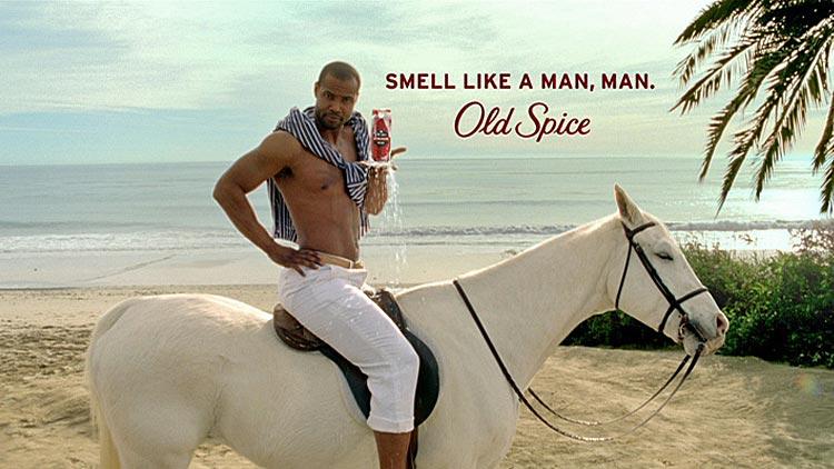 Как проходила съемка знаменитой рекламы мужского дезодоранта Old Spice.