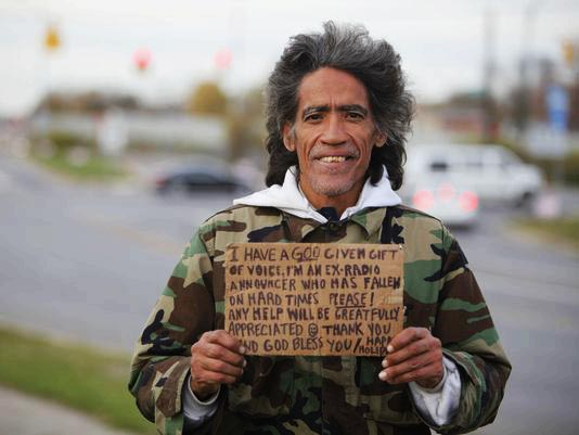 Бездомные люди, которым суждено было стать всемирно известными.