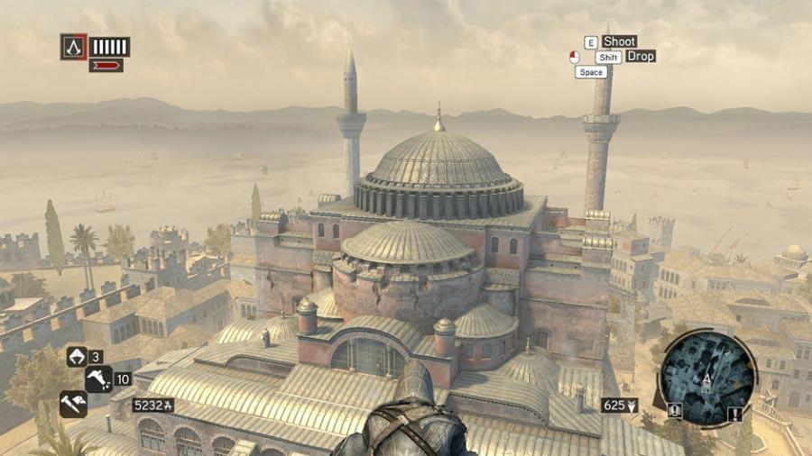 Памятники архитектуры, которые можно встретить в компьютерных играх.