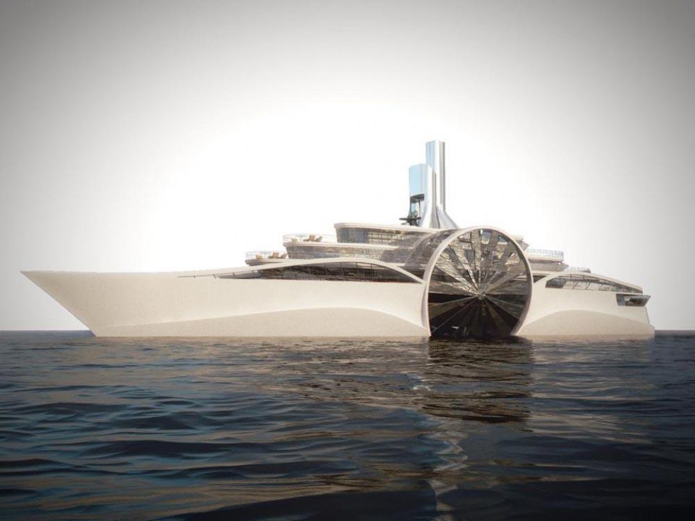 Супер яхты от российского дизайнера Василия Клюкина