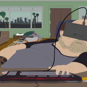Экскурсия по городку South Park, через шлем виртуальной реальности Oculus Rift
