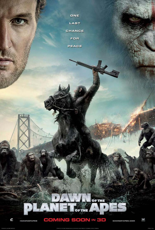 Русский трейлер фильма — «Планета обезьян: Революция»