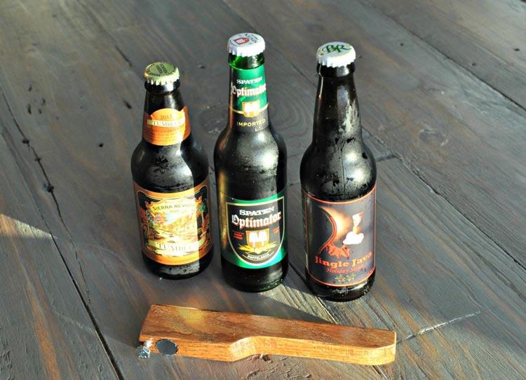 Крутая открывалка для пива своими руками.