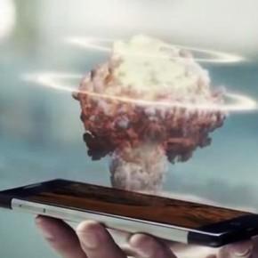 Takee 1 - первый в мире голографический смартфон.