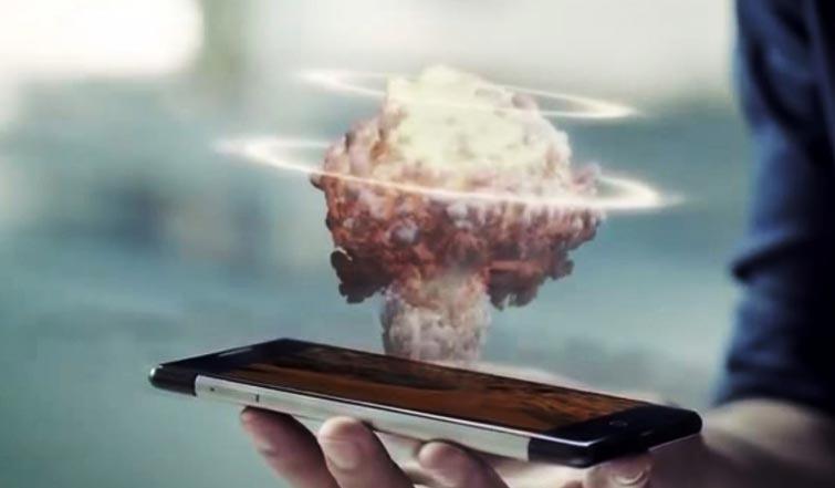 Takee 1 — первый в мире голографический смартфон.