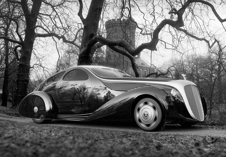 ТОП 10: Самые футуристические концепты автомобилей в классическом стиле.