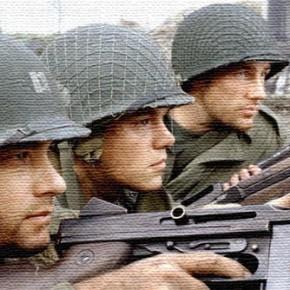 """Если бы фильм """"Спасти рядового Райна"""" снимал Сильвестр Сталонне."""