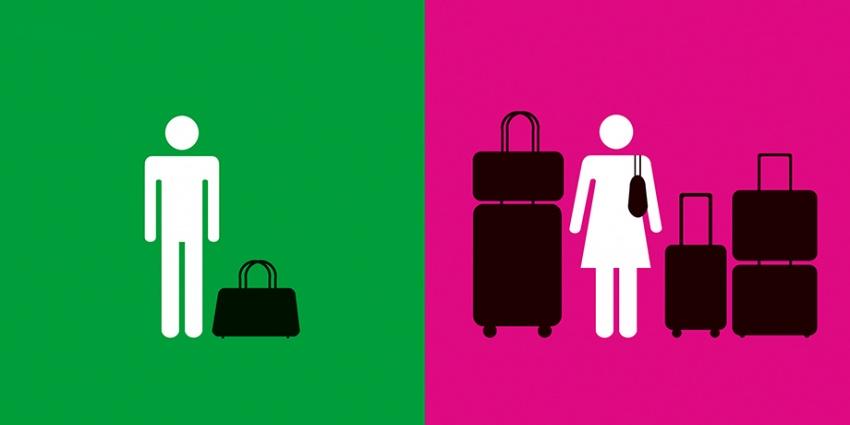 20 смешных отличий между мужчинами и женщинами.