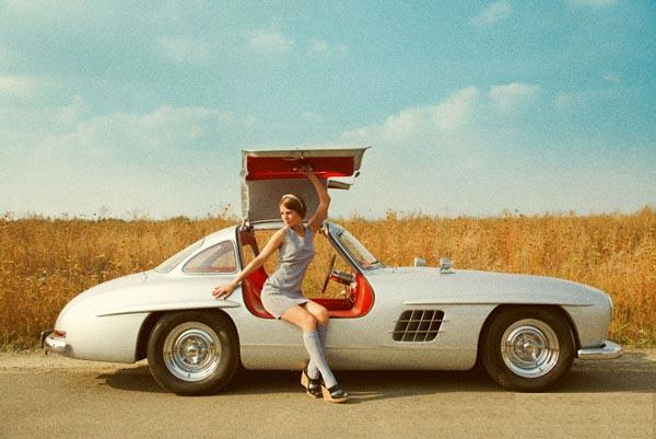 Каким видят девушки автомобиль своей мечты.