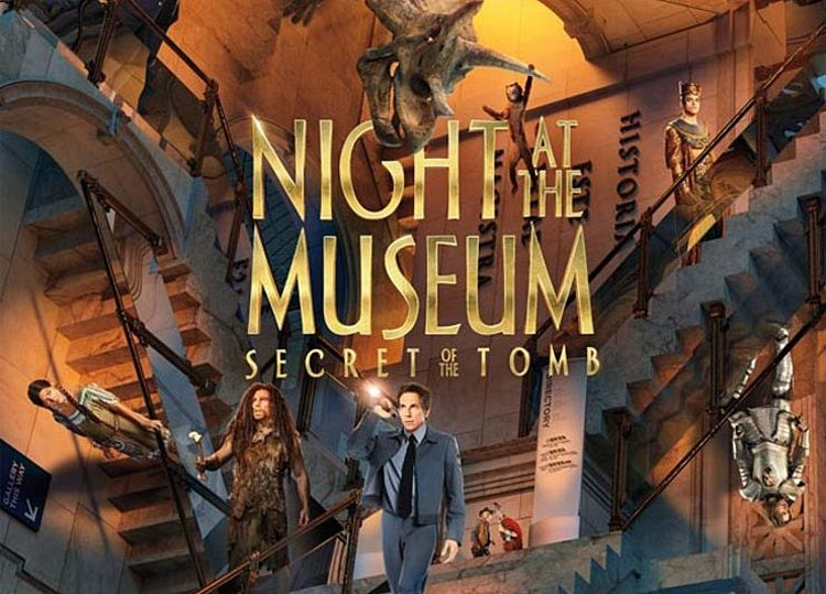 Фильм «Ночь в музее 3: секрет гробницы» 2014. Русский трейлер