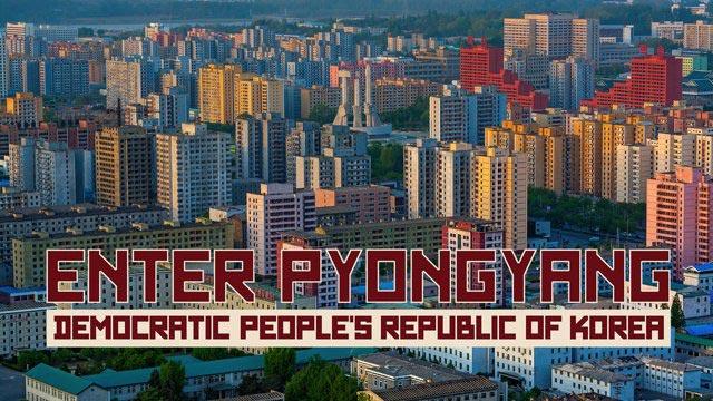 Северная Корея, какой вы ее никогда раньше не видели.