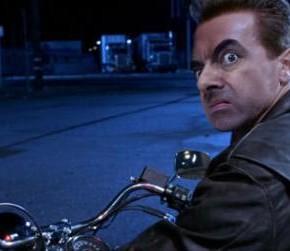 """Если бы Мистер Бин снимался в """"Терминаторе 2""""."""
