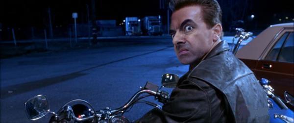 Если бы Мистер Бин снимался в «Терминаторе 2».