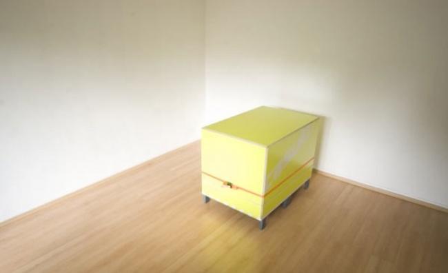 Чудеса минимализма: а с виду обычный ящик или столик.