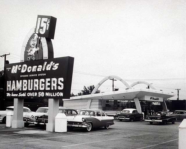 История ресторана Макдональдс