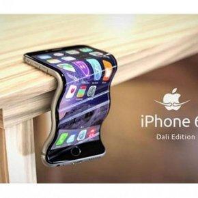 """Гнущийся iPhone 6: новая """"фишка"""" компании Apple."""