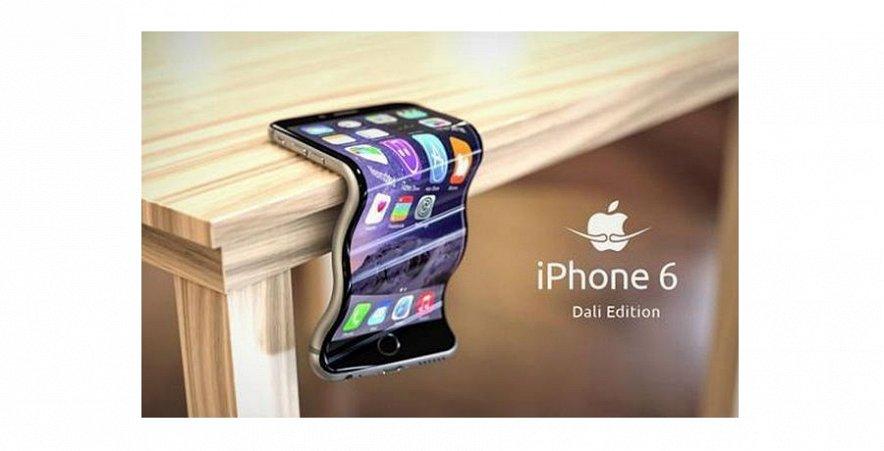 Гнущийся iPhone 6: новая «фишка» компании Apple.