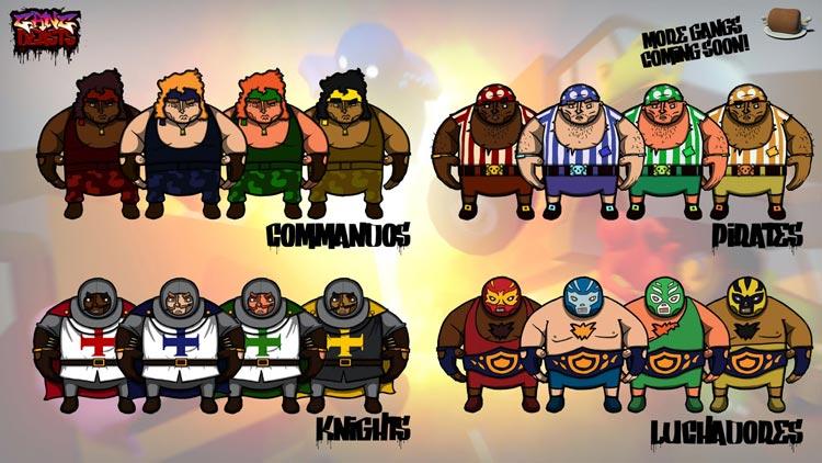 Gang Beasts: эпичный «пьяный файтинг» для веселой компании.