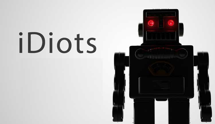 «iDiots» — жестокая правда о смартфонах Apple.