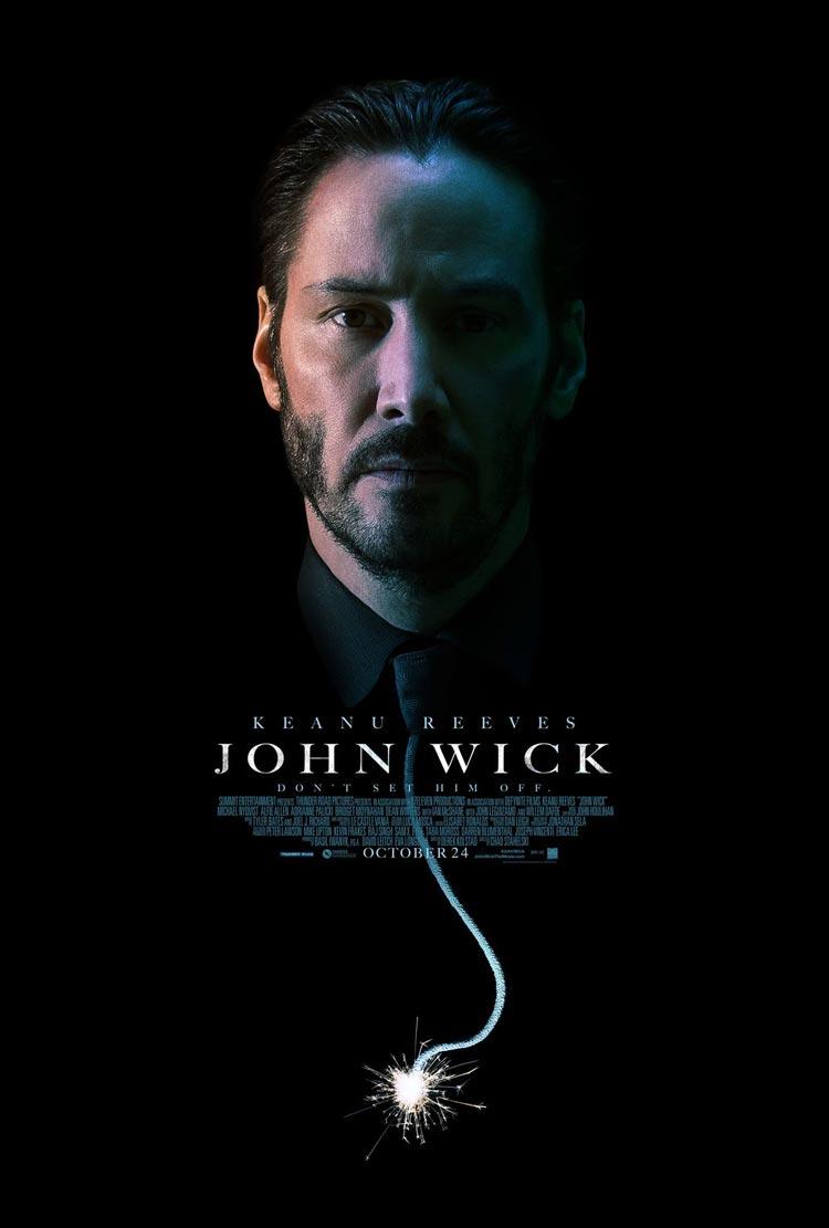 Русский трейлер фильма «Джон Уик». В главной роли: Киану Ривз.