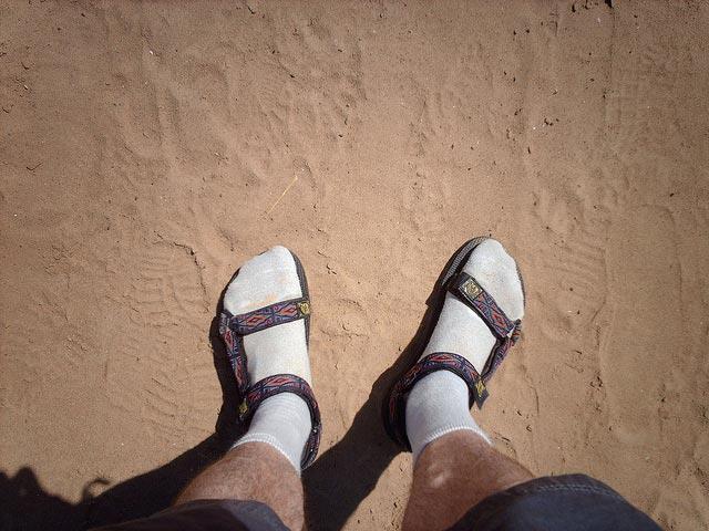 Как правильно носить носки.